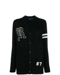 Черный длинный кардиган от Polo Ralph Lauren
