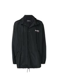Мужской черный дождевик от Balenciaga