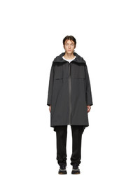Мужской черный дождевик от Bottega Veneta