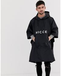 Мужской черный дождевик от Nicce London