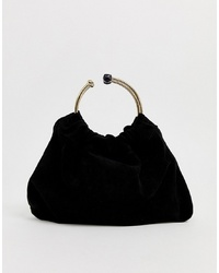 Черный замшевый клатч от Forever New
