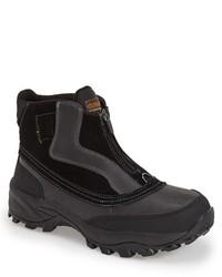 Черный зимние ботинки