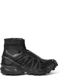 Мужской черный зимние ботинки от Salomon