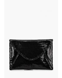 Черный клатч от Dorothy Perkins