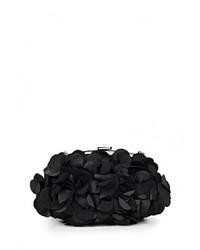 Женский черный клатч от Fabretti