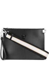 Черный клатч от Versace