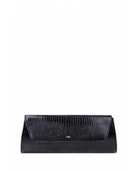 Черный кожаный клатч от Esse
