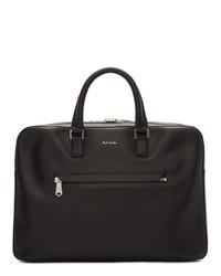 Черный кожаный портфель от Paul Smith