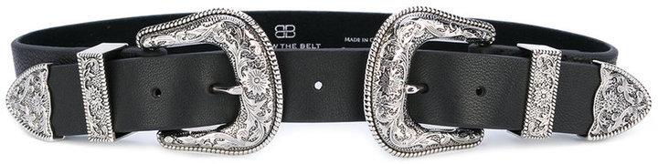Женский черный кожаный ремень от B-Low the Belt