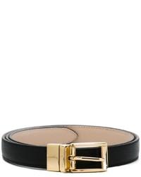 Женский черный кожаный ремень от Dolce & Gabbana