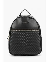 Женский черный кожаный рюкзак от Aldo