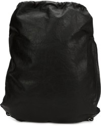 Мужской черный кожаный рюкзак от Alexander Wang
