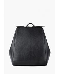 Женский черный кожаный рюкзак от Arny Praht