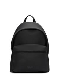 Мужской черный кожаный рюкзак от Bottega Veneta