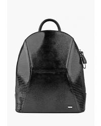 Женский черный кожаный рюкзак от Esse