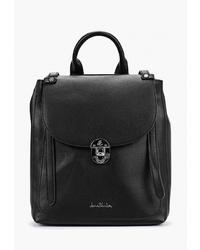 Женский черный кожаный рюкзак от Jane Shilton