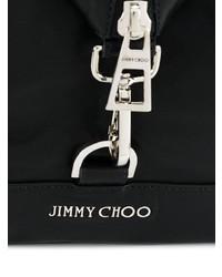 Мужской черный кожаный рюкзак от Jimmy Choo