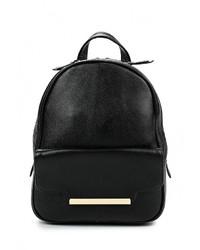 Женский черный кожаный рюкзак от Labbra