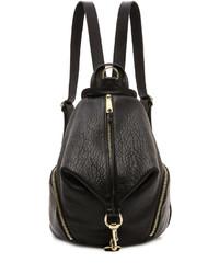 Женский черный кожаный рюкзак от Rebecca Minkoff