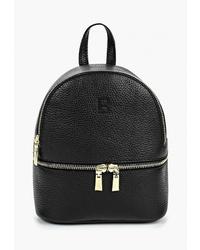 Женский черный кожаный рюкзак от Roberto Buono