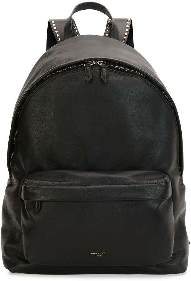 Кожаный рюкзак givenchy рюкзак scout vi белый волк