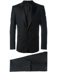 Черный костюм-тройка от Dolce & Gabbana