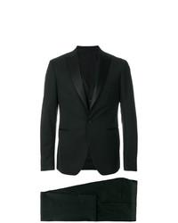 Мужской черный костюм-тройка от Tagliatore