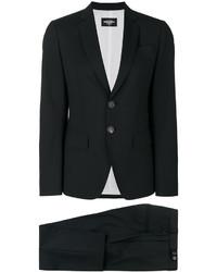 Женский черный костюм от Dsquared2