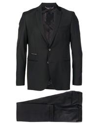 Черный костюм от Philipp Plein