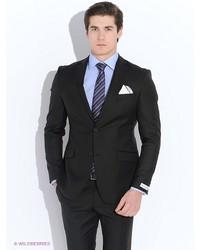 Мужской черный костюм от Troy collezione