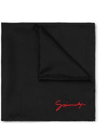 Черный нагрудный платок от Givenchy