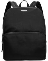 Черный нейлоновый рюкзак