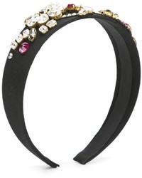 Детский черный ободок/повязка для девочке от Dolce & Gabbana