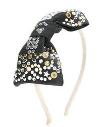 Детский черный ободок/повязка для девочке от Simonetta