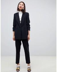 Женский черный пиджак от ASOS DESIGN