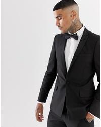 Мужской черный пиджак от ASOS DESIGN