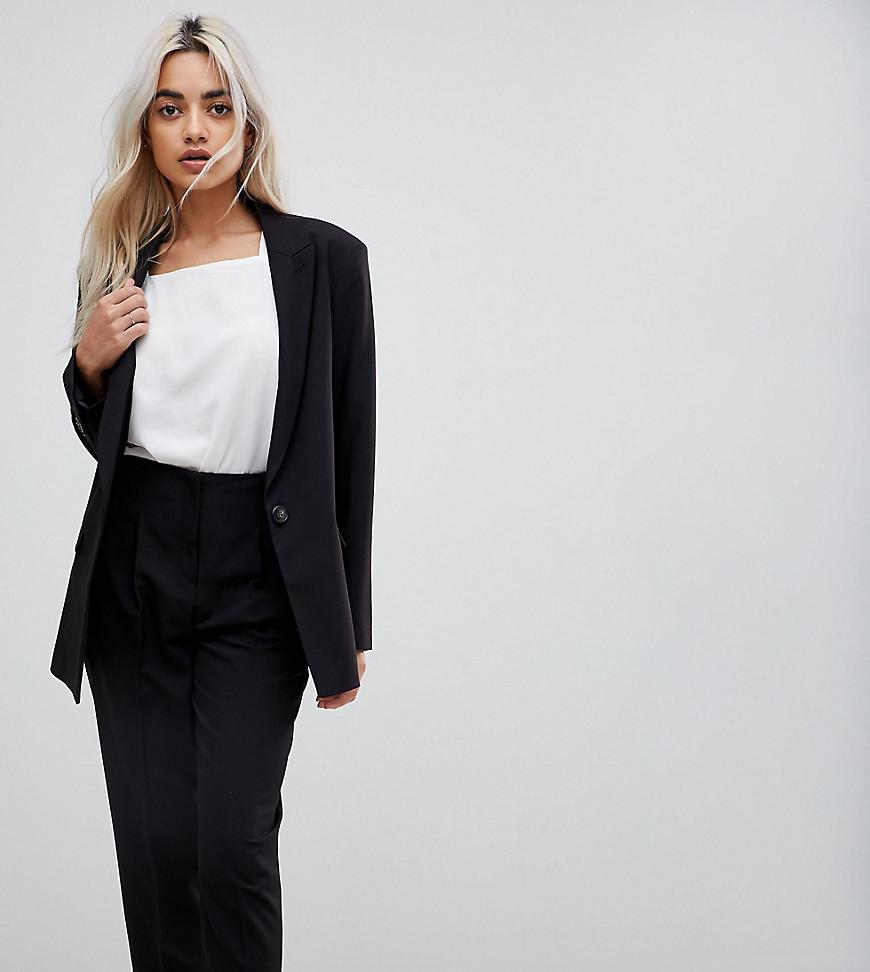 Женский черный пиджак от Asos Petite