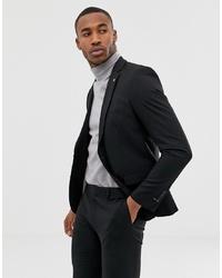 Мужской черный пиджак от AVAIL London
