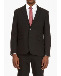 Мужской черный пиджак от Burton Menswear London
