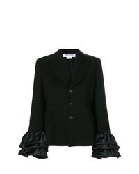 Женский черный пиджак от Comme Des Garcons Comme Des Garcons