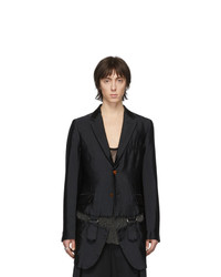 Мужской черный пиджак от Comme Des Garcons Homme Plus