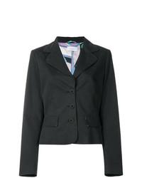 Женский черный пиджак от Emilio Pucci Vintage