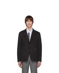 Мужской черный пиджак от Givenchy