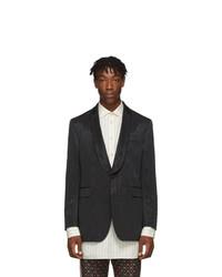 Мужской черный пиджак от Gucci