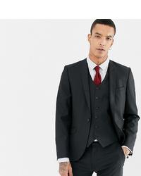 Мужской черный пиджак от Heart & Dagger