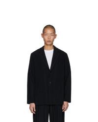 Мужской черный пиджак от Homme Plissé Issey Miyake