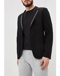 Мужской черный пиджак от Hugo Hugo Boss