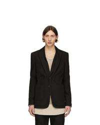 Мужской черный пиджак от Isabel Benenato