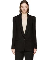 Женский черный пиджак от Isabel Marant