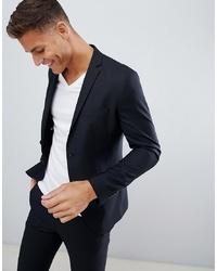 Мужской черный пиджак от Jack & Jones